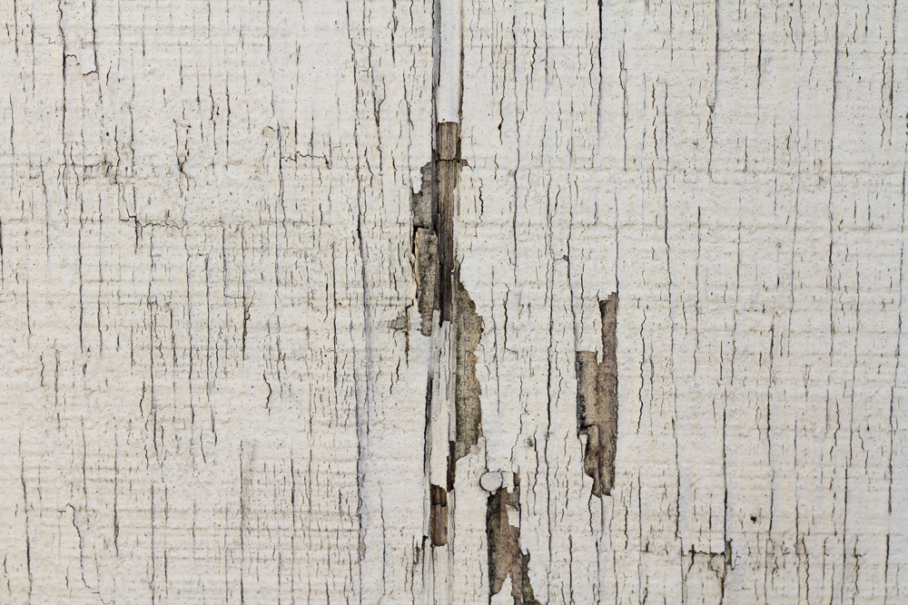 Old wood surfaces with rusted paint / wooden background