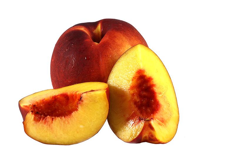 colorful nectarine fruits