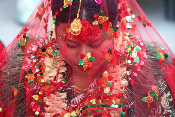 nepal bride, Kathmandu