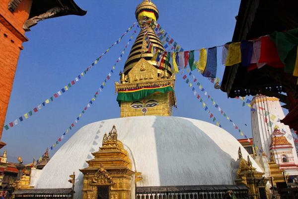 swayambhu, Nepal