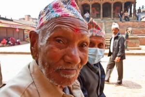 Old Man Posing - Patan Nepal