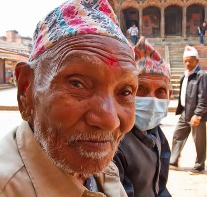 Old Man Posing – Patan Nepal