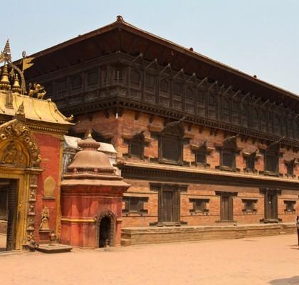 Bhaktapur Durbar Square, Nepal.