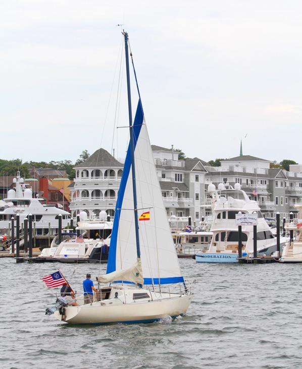 Sail Boat Newport, RI