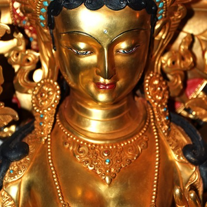 Tara Statue Closeup