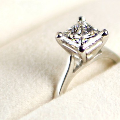Diamond Ring  Closeup