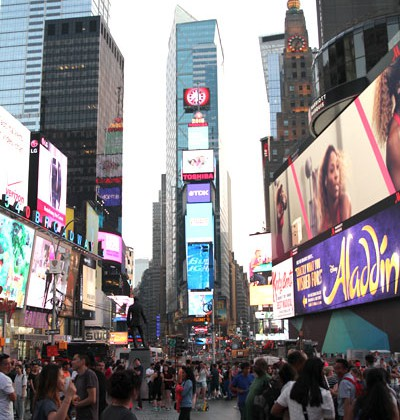 NEW YORK CITY  – Times Square
