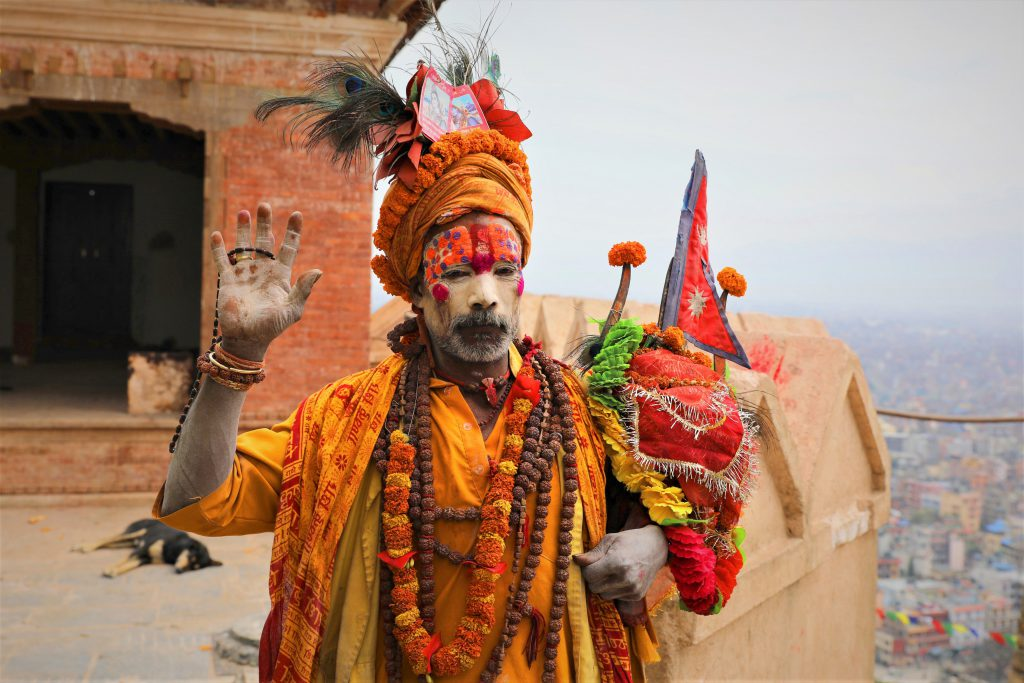 Sadhu – Swayambhunath Stupa