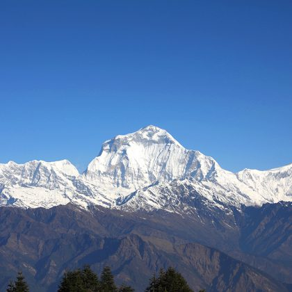 Annapurna range Nepal – Beautiful mountains